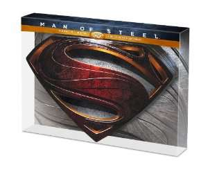 Coffret Man of Steel - Edition Metal - DVD + Blu-Ray + Blu-Ray 3D + Copie Numérique