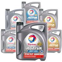 Huile moteur Total Activa essence ou diesel 5L
