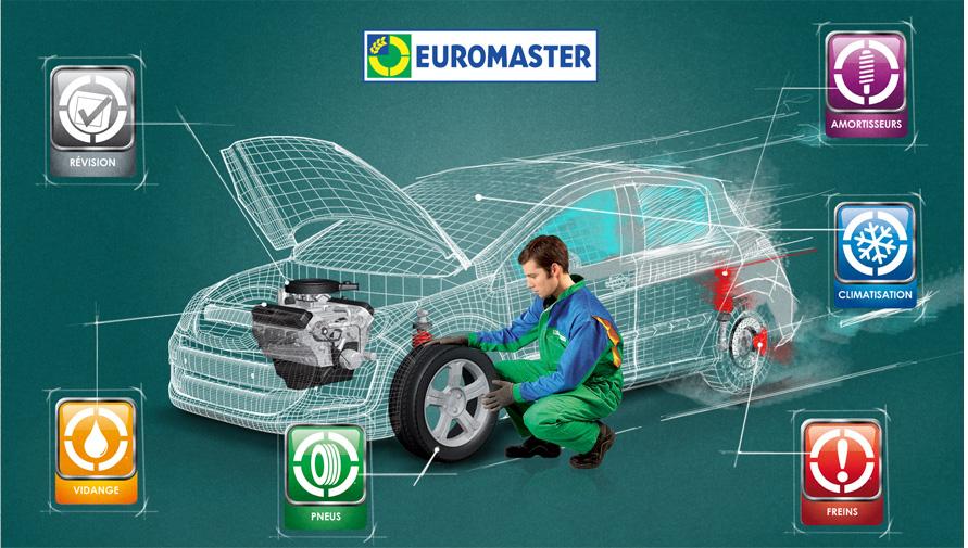 [Rosedeal] Bon d'achat Euromaster en magasin de 80€