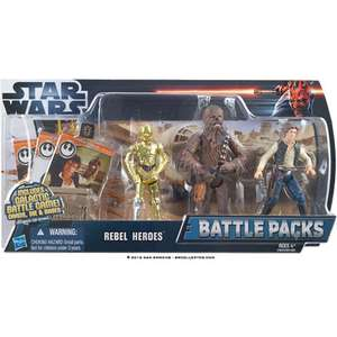 Jeu Hasbro Battle packs Star Wars Rebel Heroes