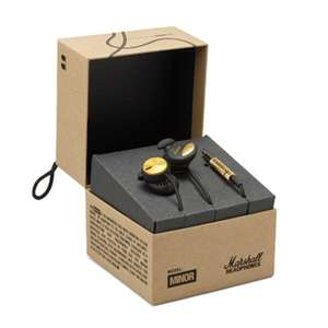 Ecouteurs intra-auriculaires Marshall Minor avec micro