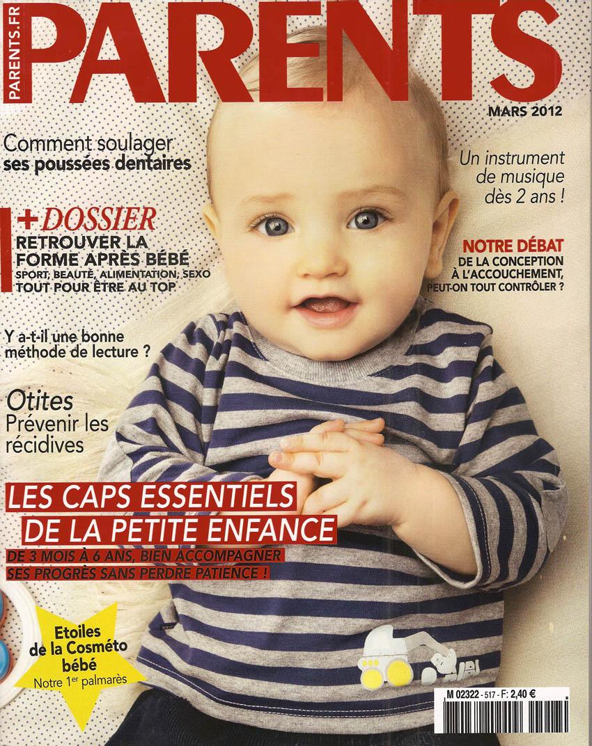 """Magazine """"Parents"""" gratuit pendant 3 mois"""