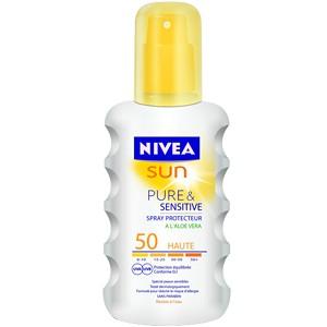 Nivea Sun Lait Protecteur Pure & Sensitive à l'Aloe