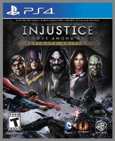 Jeu PS4 Injustice: Gods Among Us Ultimate Edition (dématérialisé)