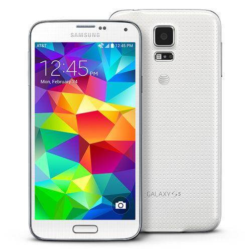Smartphone Samsung Galaxy S5 blanc 16 Go
