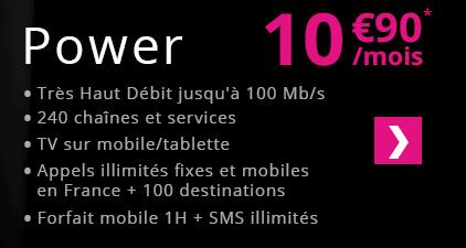 Numericable iStart à 4.9€/mois pendant un an et Power à 10.9€ @ Showroomprive