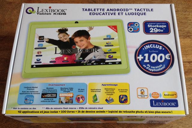 Tablette Lexibook Tablet Kids MFC142FR