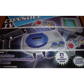 Console TV avec 2 manettes + 33 jeux Rétro-gaming