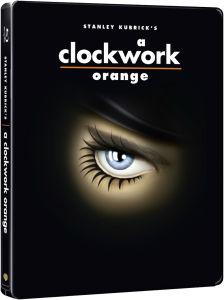Blu Ray Shining ou Orange Mécanique - Edition limitée Steelbook, l'unité