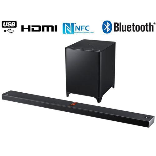 Barre de son 2.1 Samsung HW-F850/ZF - Bluetooth - 350W - SoundShare - NFC