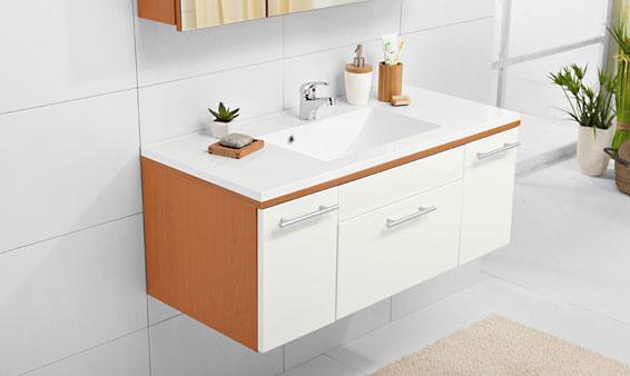 Le 30/04: Lavabo avec meuble sous vasque