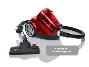 Le 30/04 : Aspirateur sans sac Dirt Devil Centec M2828-0