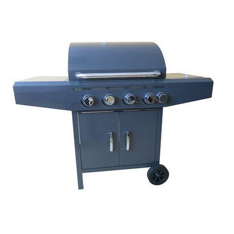 Barbecue gaz Capuccino 4 brûleurs + side burner