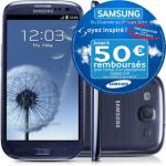 Smartphone Samsung Galaxy S3 3G (Avec ODR 50€) - 174.91€ en ligne ou