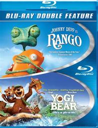Blu ray Rango+ Yogi l'ours
