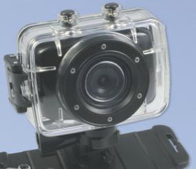 Caméra Sport HD + Carte mémoire SDHC 4Go
