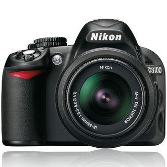 Appareil Reflex Nikon D3100 + AF-S DX VR 18-55