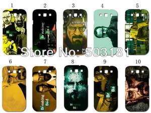 Lot 13 coques Breaking Bad pour Galaxy S3