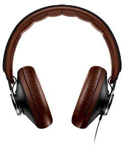 Casque Philips SHL5915BK/10 Citiscape Uptown avec Microphone Noir/Marron
