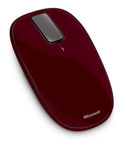 Souris sans fil Microsoft Explorer Touch Mouse - Rouge