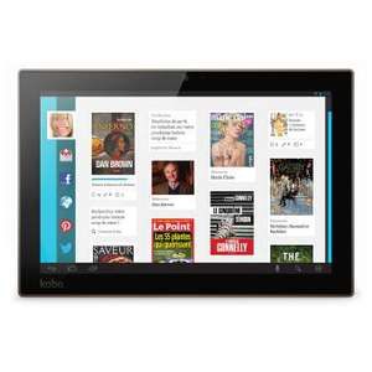 "Tablette Kobo Arc 10 HD - Ecran 10.1"", Quadcore, RAM 2Go"