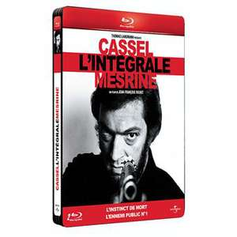 Coffret 2 Blu-ray Intégral Mesrine - Edition Steelbook