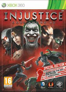 Injustice: Gods Among Us - Edition spéciale Steelbook sur Xbox 360