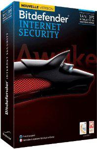 Bitdefender Internet Security 2014 (3 postes, 1 an)