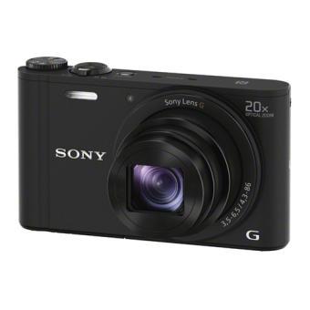 Pack Appareil photo compact Sony DSC WX350 + Étui + Carte mémoire 16 Go