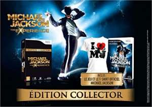 Michael Jackson The Experience édition collector (wii)