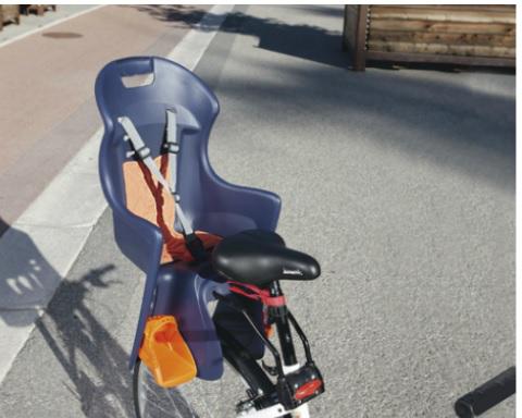 Portebébé Pour Vélo Boodie Dealabscom - Porte bébé pour vélo