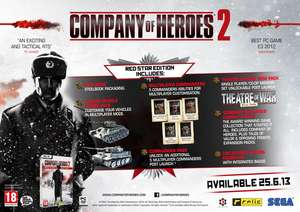 Company Of Heroes 2 Edition Collector Red Star