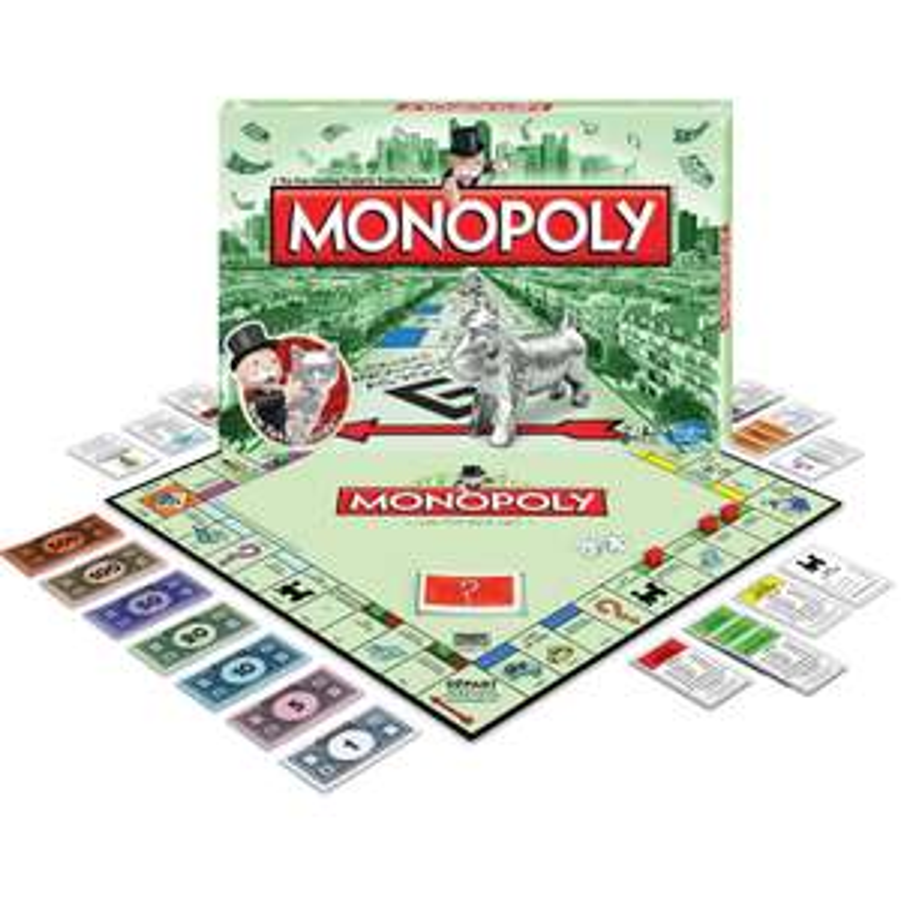 Jeu de Plateau Hasbro Monopoly Classique (Avec ODR de -50%)