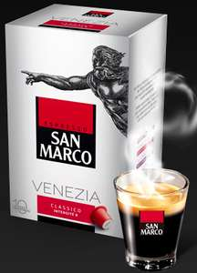 2 capsules espresso San Marco (compatibles Nespresso) à recevoir gratuitement