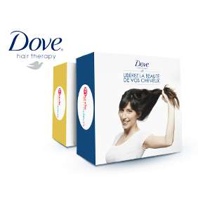 Le 07/05 : une Box Dove Hair Therapy offerte