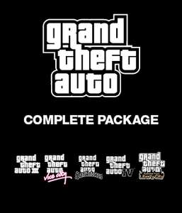 Grand Theft Auto Complete sur PC (GTA III + Vice City + Auto San Andreas + IV + IV Episodes From Liberty City)