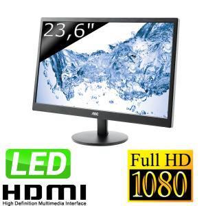 "Ecran 23,6"" LED AOC e2470Swhe Full HD"