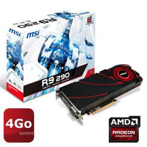 Carte graphique MSI AMD Radeon R9 290 4Go GDDR5
