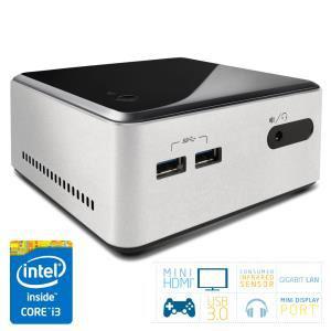 """Mini PC Barebone NUC Intel Core i3 Haswell - Baie 2,5"""" (D34010WYKH2)"""