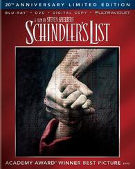 Blu-Ray  La Liste de Schindler - Edition 20ème Anniversaire