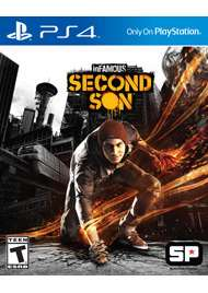 inFamous: Second Son sur PS4 - Port compris
