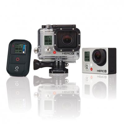 Caméra GoPro Hero3 Reconditionnée - White Edition à 159.95€, Black Edition