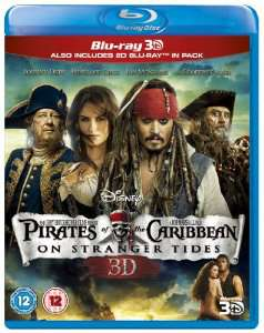 BluRay 3D + 2D - Pirates des Caraïbes : La Fontaine de jouvence