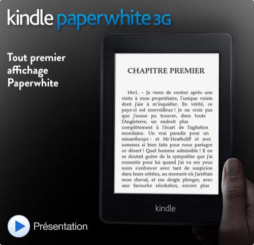 Kindle Paperwhite 3G [génération précédente]