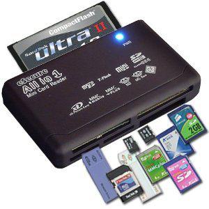 Lecteur de carte USB compatible avec une grande majorités des cartes mémoires
