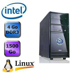 PC Linux Dust Vision C15 - Dualcore, RAM 4Go, 1,5To