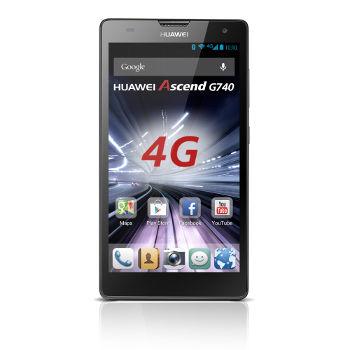 Smartphone Huawei Ascend G740 (noir) - (avec ODR 30€)