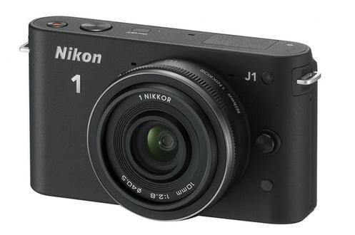 Appareil photo Nikon 1 J1 NOIR + 10mm