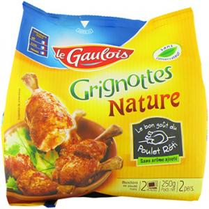4 produits à -90% minimum - Ex : Grignottes le Gaulois