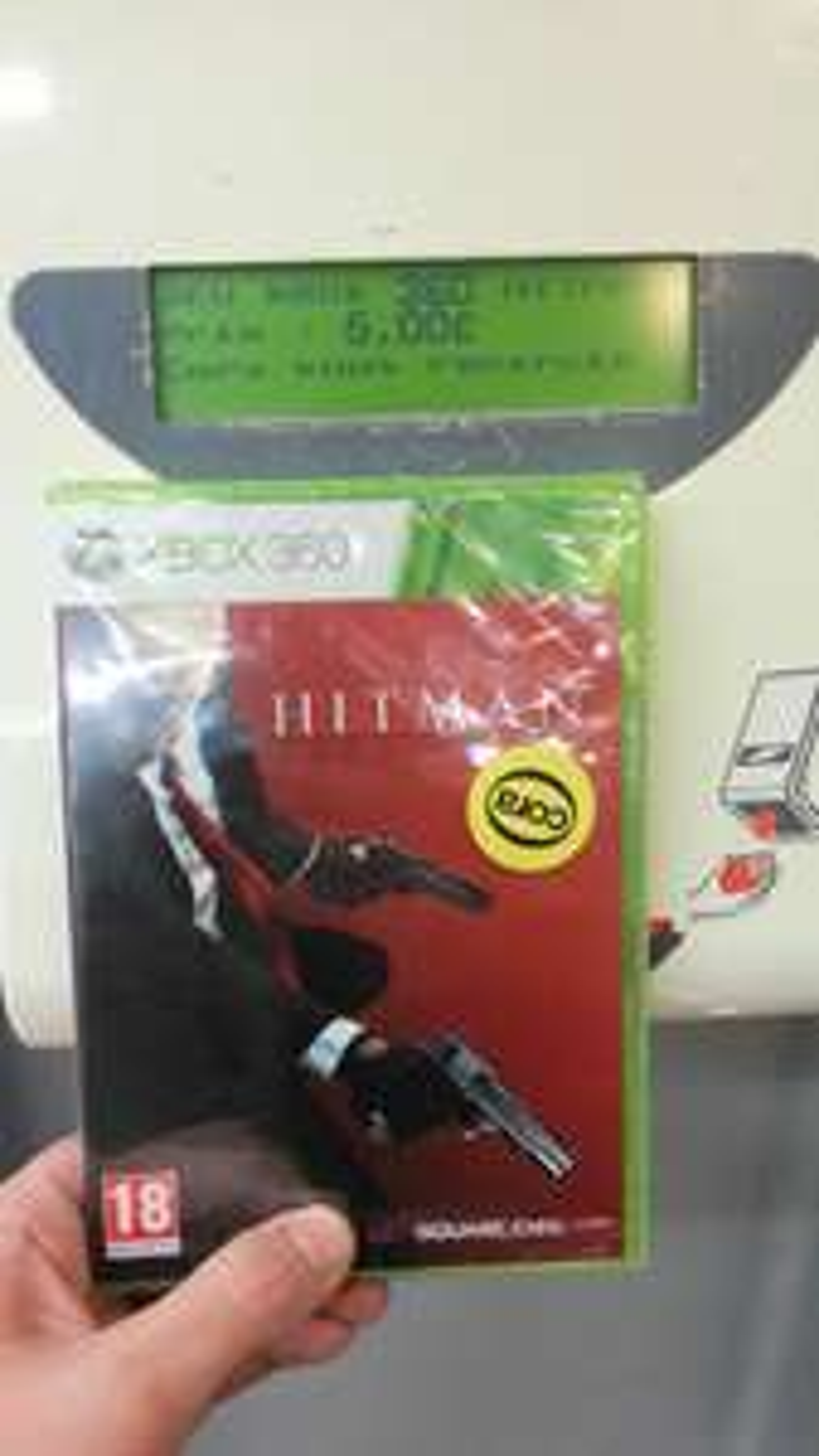 Hitman Absolution sur Xbox 360 (+ 2.5€ sur la carte Cora)